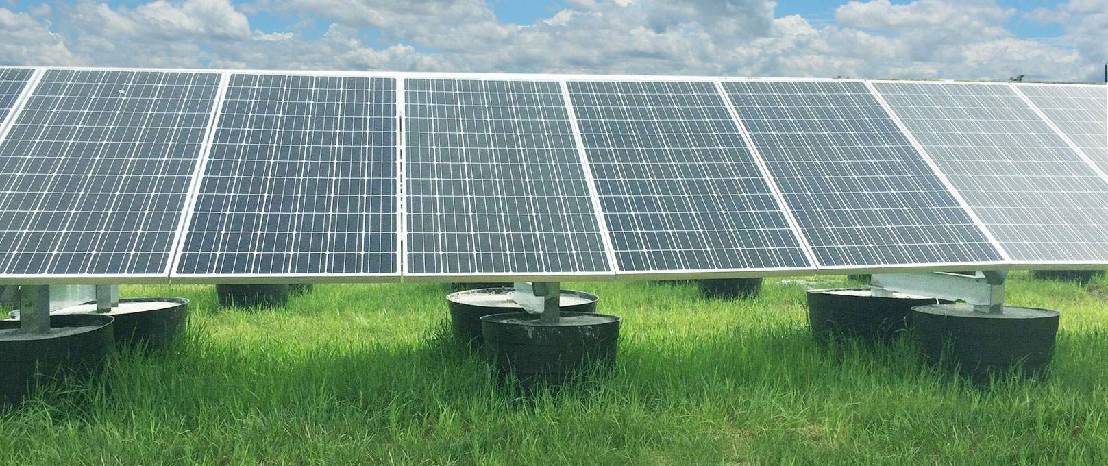 Large Scale GameChange Solar tracker Systems