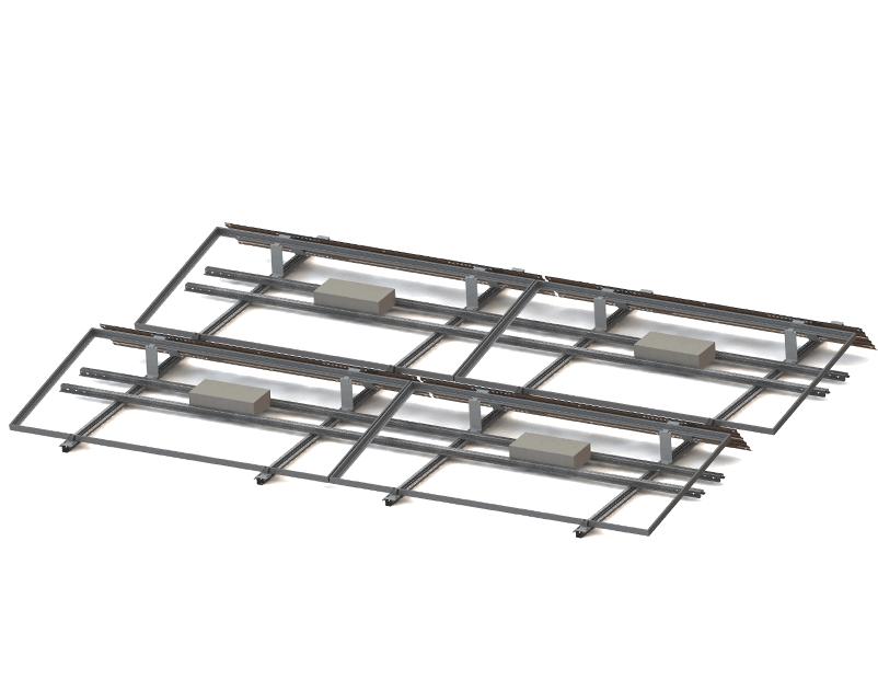 roof racking system drawing