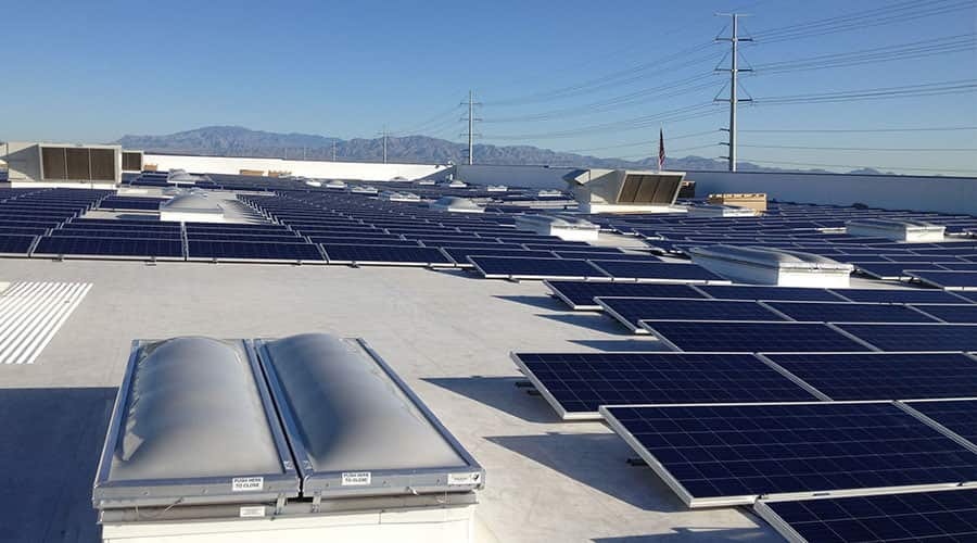 solar roof system in NV
