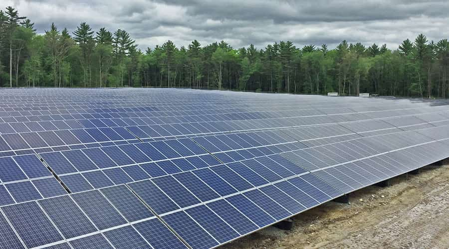 Dartmouth solar energy