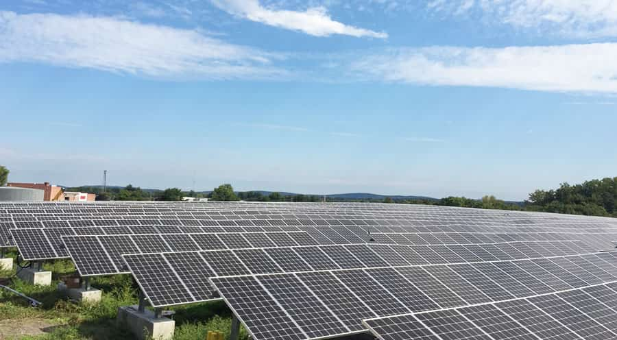 Solar Landfill Project in Connecticut