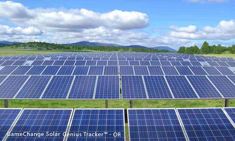 GameChange Solar   Genius Tracker™ - Single Axis Solar Tracker